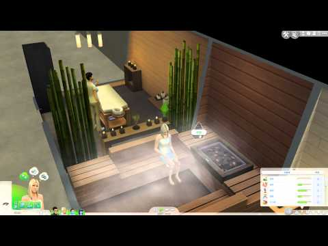 The Sims 4 - Spa Day Tests At Home  