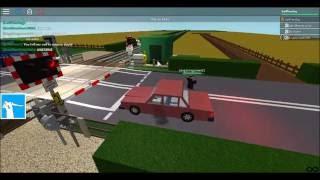 ROBLOX: Apple Street Auto AHB Level Crossing,Carlham