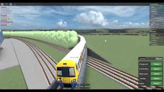 Roblox MTG First Day on New class 378 from Strand Tunnel - Wellesey via Deansgate