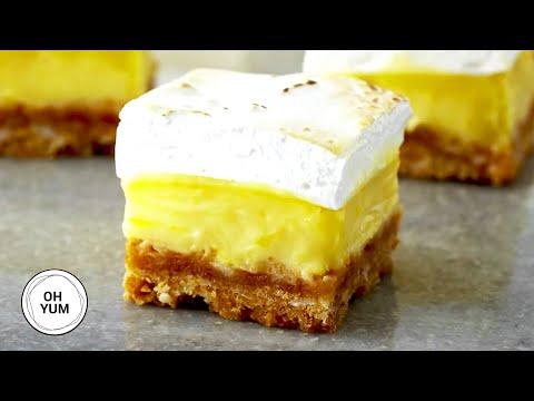 How Do You Turn Lemon Meringue Pie Into Squares?