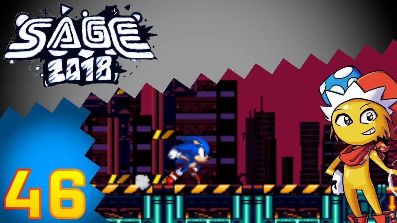 Let's Play SAGE 2018 (Deutsch) Part 46 - Not So Simple Sonic Worlds