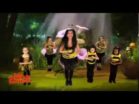 """La """"Maya danse"""" avec Mélanie ! - Maya l'abeille sur Tiji !"""