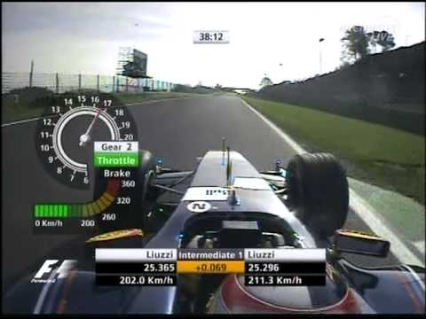 F1 Imola 2005 FP3 - Vitantonio Liuzzi Lap