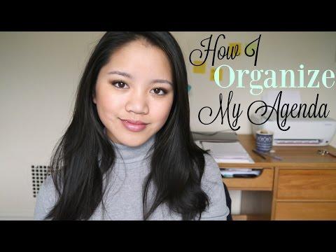 How I Organize My Agenda/Planner || Moleskine Weekly Notebook