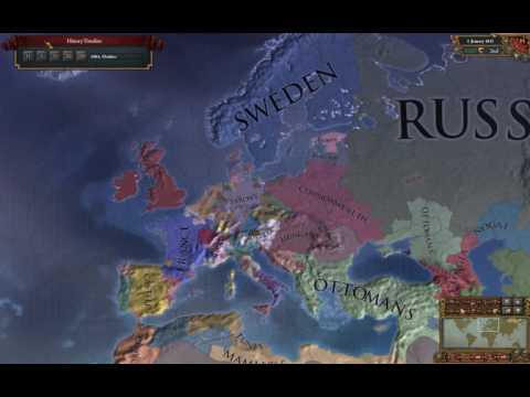 "Europa Universalis 4 Timelapse - Saxony ""An early Reich"" (1444-1821)"