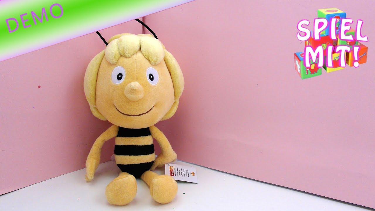 Biene Maja Youtube Die Biene Maya Plüsch Puppe Von Studio 100