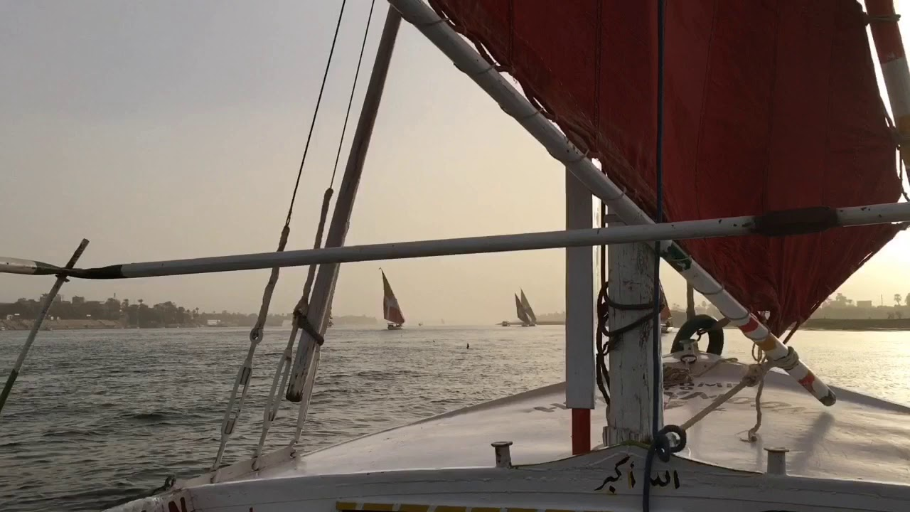 Sailing in a Sandstorm on the Nile