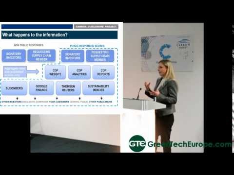 CDP and TUV Nord presentation: preparation for independent GHG verification