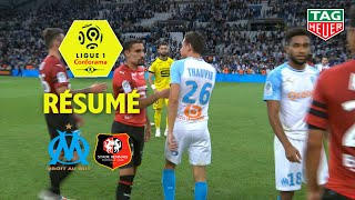 Olympique de Marseille - Stade Rennais FC ( 2-2 ) - Résumé - (OM - SRFC) / 2018-19