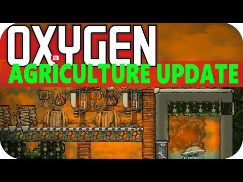 Oxygen Not Included NEW GAS GEYSER!!! Lets Play Oxygen Not Included AGRICULTURE UPDATE Gameplay #18