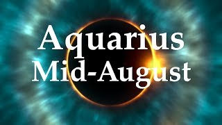 Video Aquarius Mid-August 2017 DON'T TALK YOURSELF OUT OF A DREAM - Aquarian Insight download MP3, 3GP, MP4, WEBM, AVI, FLV Agustus 2017
