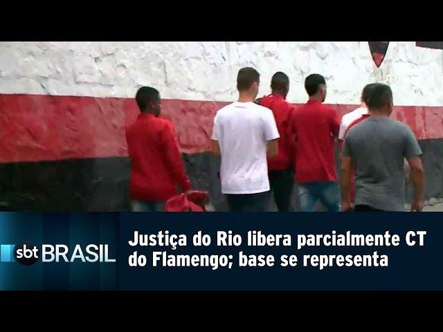 Justiça do Rio libera parcialmente CT do Flamengo; base se reapresenta | SBT Brasil (11/03/19)