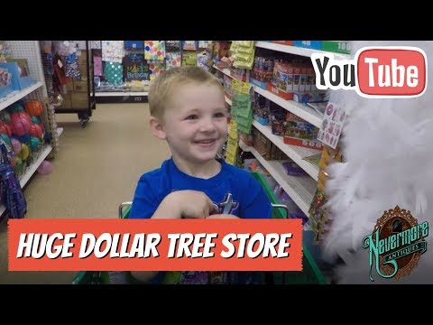 Dollar Tree Shopping For Kids Toys & More | Biggest Store Ever!