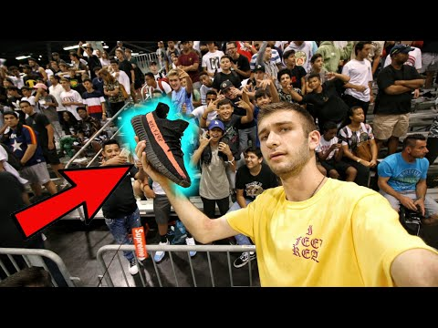 THEY TRIED TO TAKE MY YEEZYS FROM ME FOR FREE! THE GREATEST SNEAKERCON EVER!