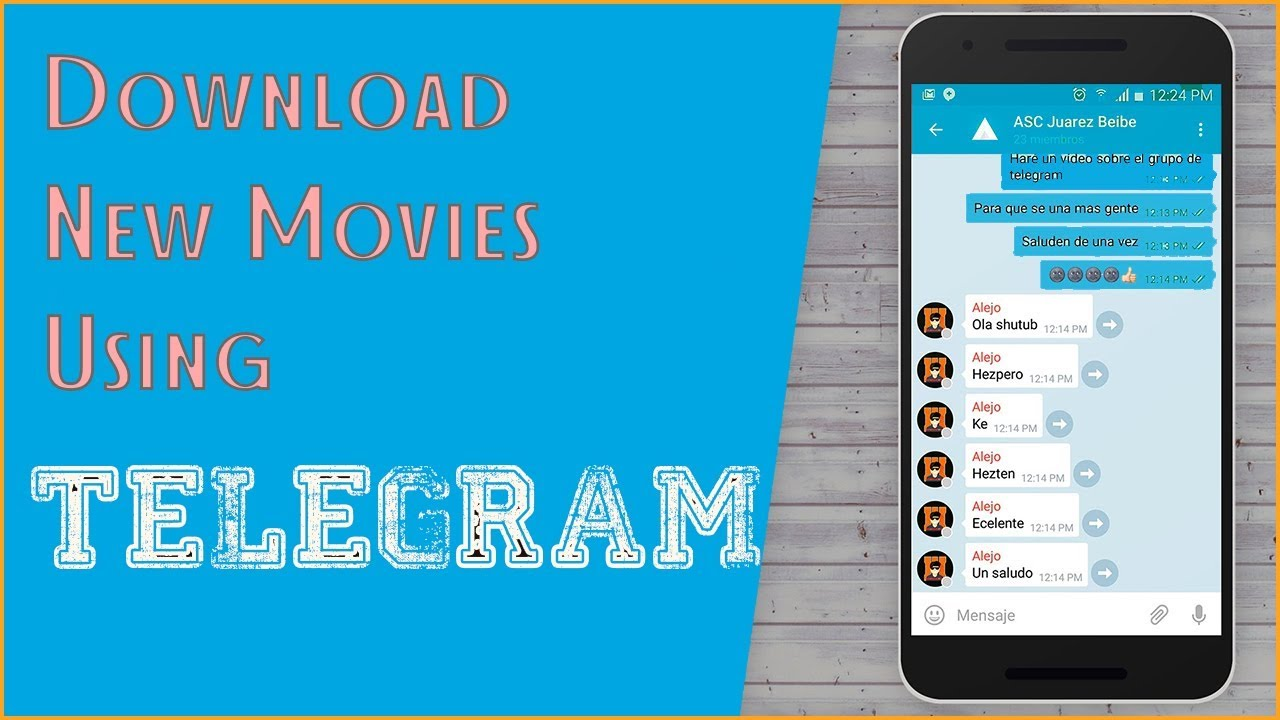 DOWNLOAD NEW MOVIES USING TELEGRAM [Any movie]