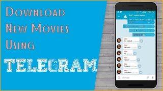 DOWNLOAD NEW MOVIES USING TELEGRAM [Any movie]