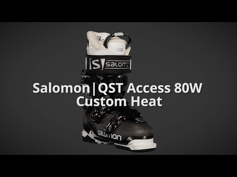 2018 Salomon QST Access Custom Heat Ski Boots Womens Review The