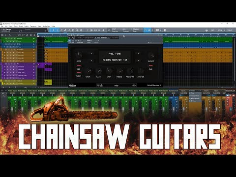 Grind Machine II – Audio Assault Review [Ultimate Chainsaw Guitar Tones Incoming!]