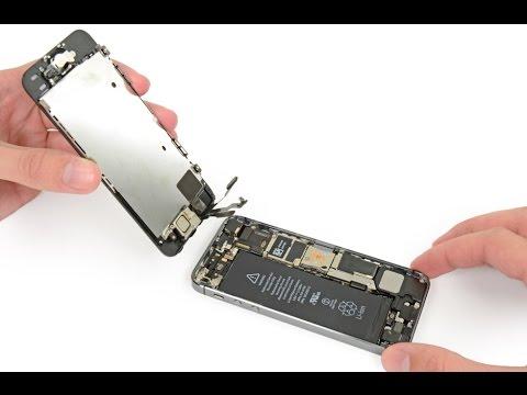 замена дисплея айфон 5с