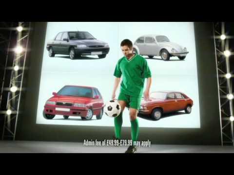 webuyanycar.com football - TV advert
