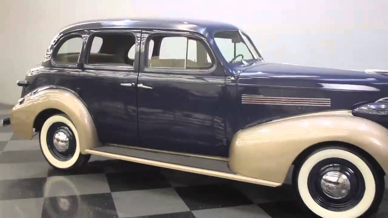 1798 1939 Chevy Master Deluxe Final mov - YouTube