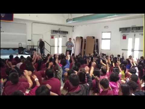 Tamuning Elementary School Guam History and Chamorro Heritage Day & Mes Chamoru Presentation