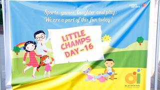 Children's Sports Day (Little Champs Day) @ Oi Playschool 2016
