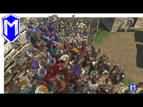 M&B - Getting A Village, Infested - Mount & Blade Warband Prophesy of Pendor 3.8 Gameplay Part 22