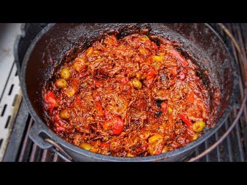 ROPA VIEJA cuban pulled beef english Grilland BBQ-Recipe 0815BBQ
