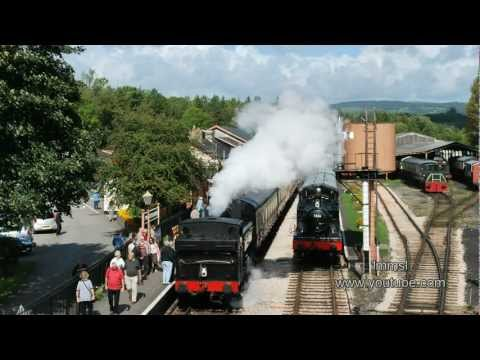 South Devon Railway At Buckfastleigh  - Beautiful British Countryside