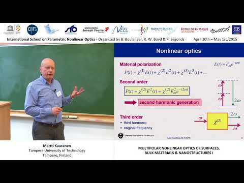 13/44 Multipolar nonlinear optics of surfaces, bulks & nanostructures I