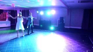 wedding dance dirty dancing cha cha slide beyonce tracey and gerard frist dance 2012