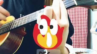 Red velvet - bad boy short cover with ukulele
