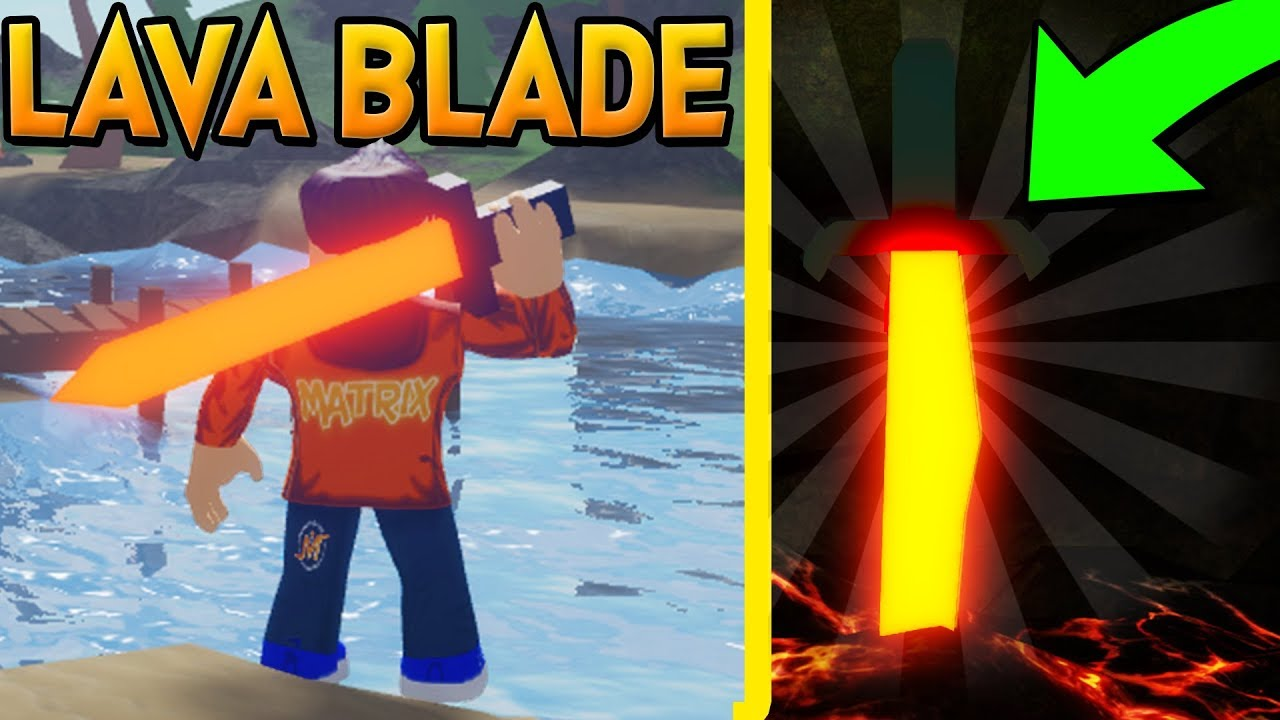 How To Find The Free Lava Blade In Treasure Quest New Roblox