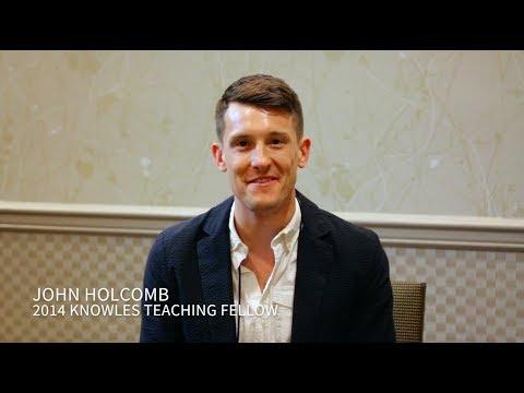 Holcomb Fellowship Testimonial