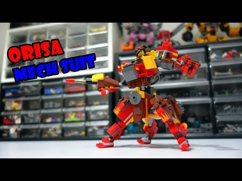 Orisa Mech Suit Lego Set 70827 Alternative Build - Смотреть