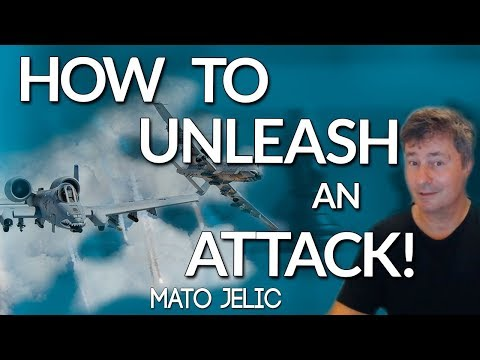 How To Unleash an Attack on the Uncastled King ♔⚔♚ Mato Jelic