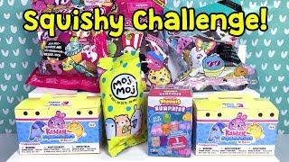 Moj Moj Soft N Slow Squishy Skuşi Oyuncakları ile Challenge