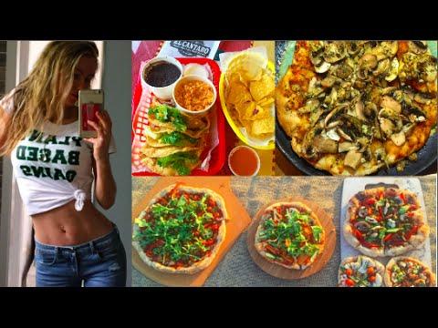What I ate in LA Vegan - freelee banana girl
