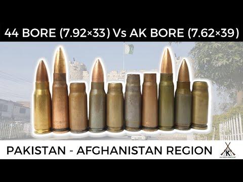 German 7.92x33mm Vs Russian 7.62x39mm (44 Bore Vs 711 Bore) - 44 Bore Khyber Pass Special