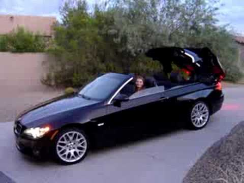 BMW I Convertible YouTube - 2009 bmw 335i convertible