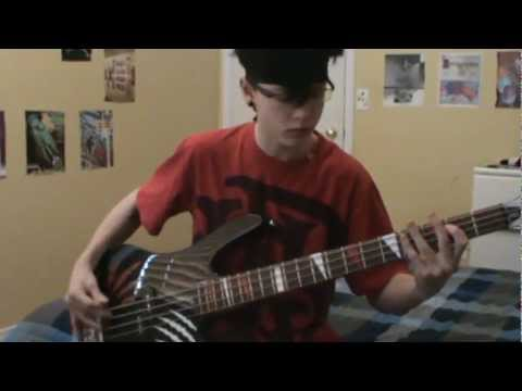 Black veil brides- Rebel Love Song Bass Cover