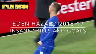 "🔴EDEN HAZARD-""THE LEGENDS NEVER DIE"""