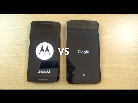 Moto X Play VS Nexus 6 - Speed & Camera Test!