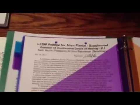K1 Visa I 129f Packet For Gay Couple K1 Visa Approved Youtube
