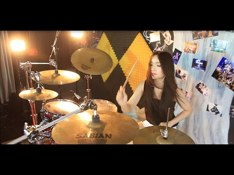 Europe - The Final Countdown Silent Knight Version - Drum Cover by Mai Thơ