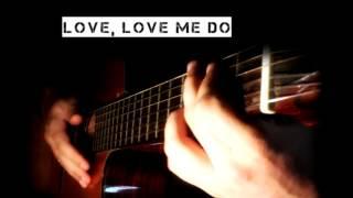Beatles - Love me do - Acoustic Guitar Karaokê
