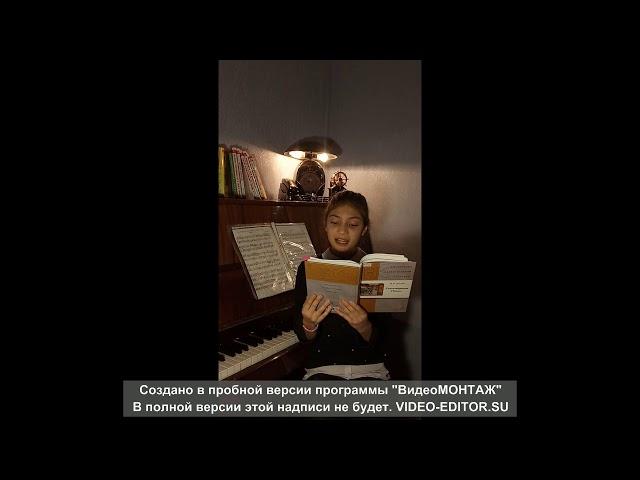 Изображение предпросмотра прочтения – МаргаритаАгаркова читает произведение «Книги в красном переплете» М.И.Цветаевой