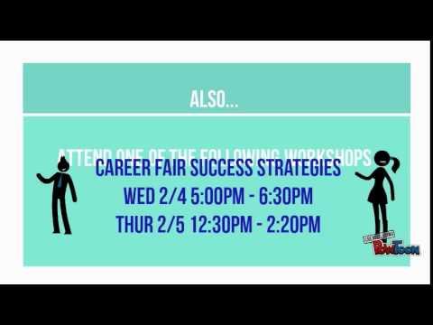 Baruch Spring 2015 Job and Internship Fair Promo