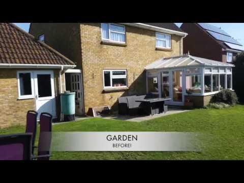 Wide Garden Design